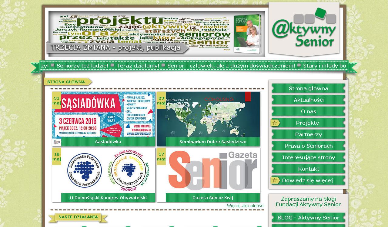 Fundacja Aktwyny Senior