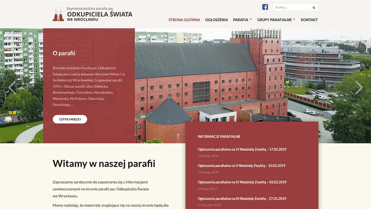 Strona Parafii pw. Odkupiciela Świata