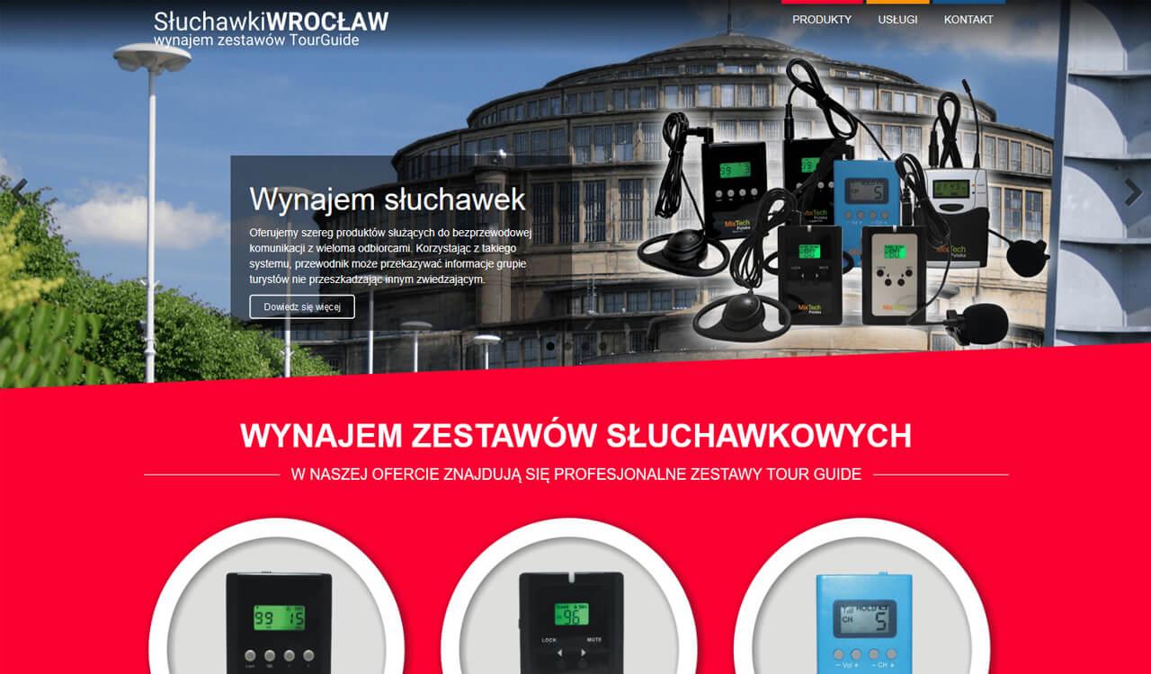 Strona Słuchawki Wrocław